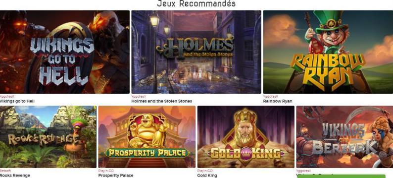 Casino Lucky31 Juegos recomendados