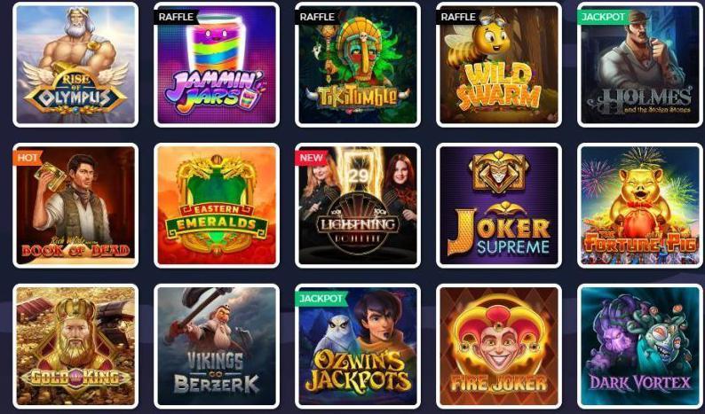 Juegos de casino Lucky8