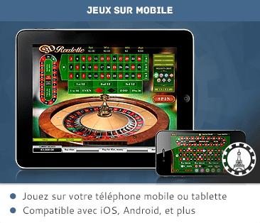 Tablet y casino móvil